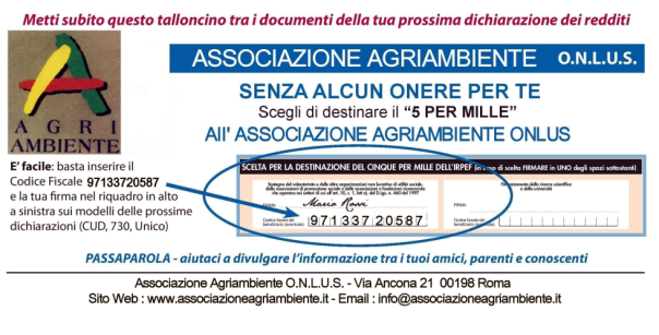 5 per mille Agriambiente